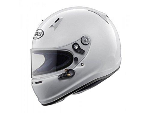 Casco de kart ARAI SK-6 K-2015 genuino (blanco) Tamaño: M (56-57cm)