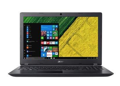 Acer Aspire A315-31-P3JX 15.6-Inch Notebook - (Obsidian Black) (Intel Pentium N4200, 4 GB RAM, 1 TB HDD, Intel HD Graphics 505, Windows 10 Home)