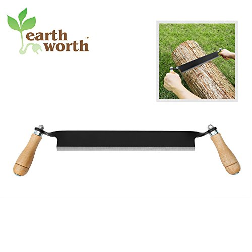 1950 Earth Worth | Straight Draw Shave Tool | 13 Inch | Black