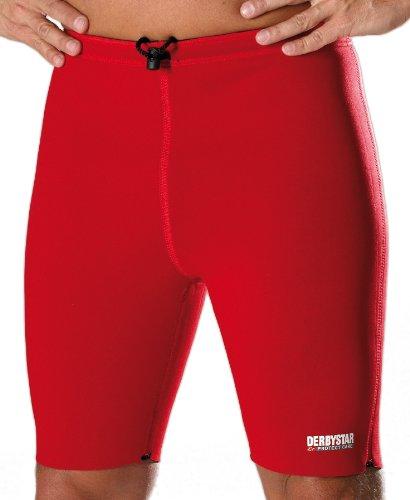 Derbystar Thermohose, M, schwarz rot, 7401040000