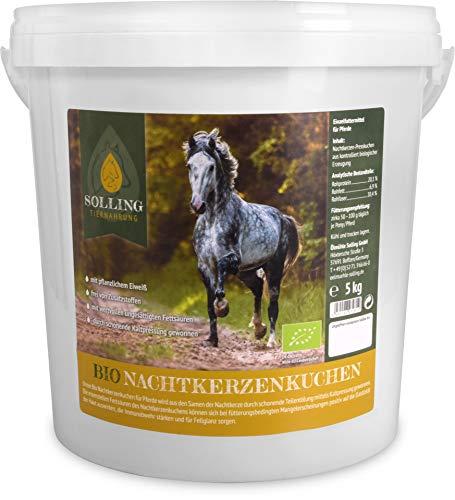 Solling Tiernahrung Nachtkerzenkuchen - Pellets - Granulat/Bio Qualität - 100% naturrein 5kg