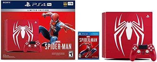 Console PlayStation Spider-Man Ensemble PS4 Pro à Édition Limitée - 0