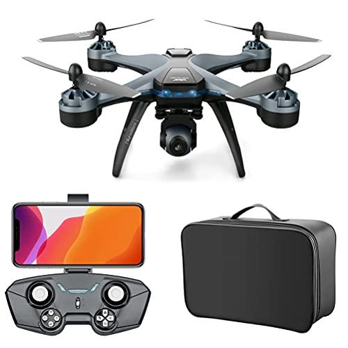 Drone GPS con cámara 4K para adultos, Drone GPS portátil FPV, Quadcopter...