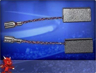 Kohlebürsten für Kress Winkelschleifer WS 6360 EA, WS 6390 E Fräsmotor FM 6955, FM 6990 E