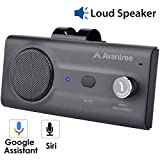 Avantree CK11 Hands Free Bluetooth for Cell Phone Car Kit, Loud Speakerphone, Siri Google Assistant Support,...