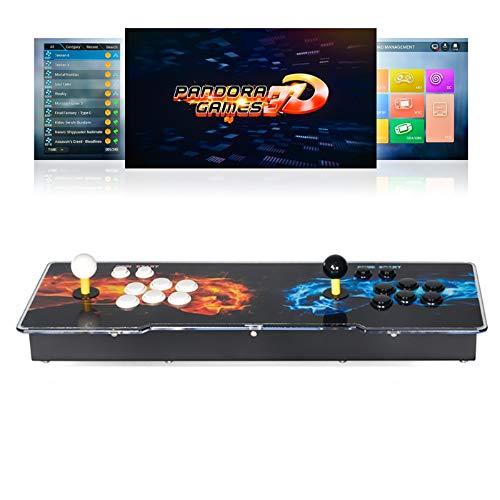 TAPDRA 4018 en 1 Pandora Consola de Juegos 3D Arcade Kit de Bricolaje Completo Mercado de Juegos WiFi Incorporado más de 10000 Juegos...