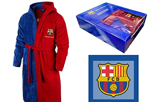 T&R Albornoz Algodón Oficial FC Barcelona Talla L