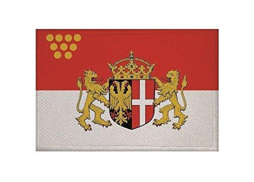 U24 Aufnäher Neuss Fahne Flagge Aufbügler Patch 9 x 6 cm