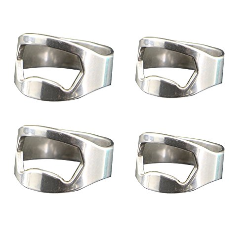 VKI® Apribottiglie Anello, 2x20mm+2x22mm, 4 pz