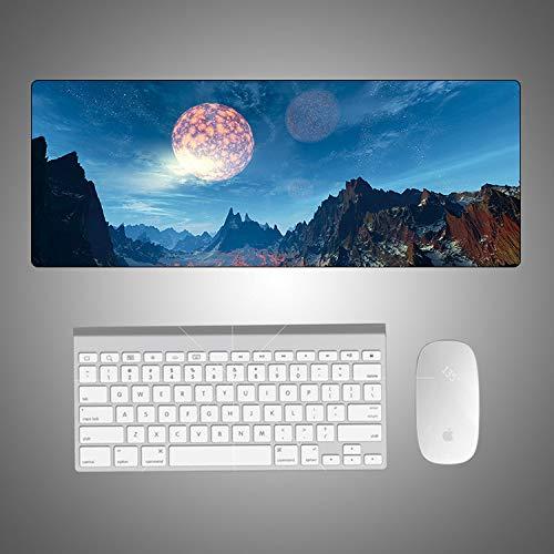 Kreative Sterne Mauspad Cartoon Mauspad Persönlichkeit Mauspad Super Tischset 3 800 * 300 * 2mm