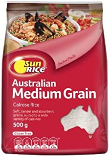 Sunrice White Medium Grain Rice 500 g, 500 g