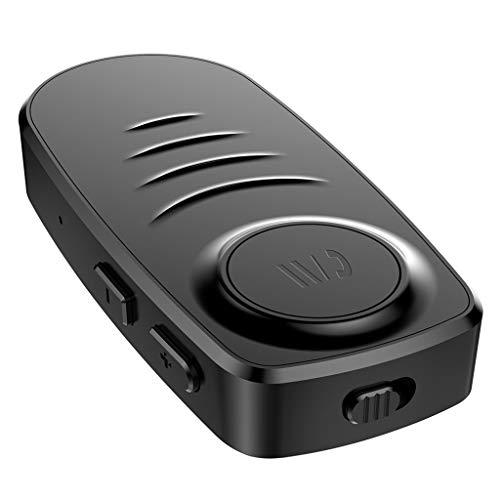 IPOTCH Inalámbrico Bluetooth Home Car AUX Adaptador Altavoz Audio Receptor de Música