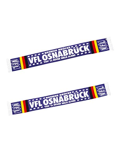 VfL Osnabrück Bufanda con texto en inglés 'You'll Never...