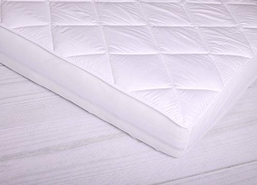 Moon Spann - Unterbett Luxus für Matratzen/Wasserbetten Matratzenauflage -160x220