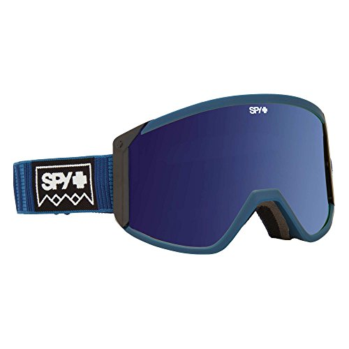 Spy Goggle Raider (W/Bonus Lens) Skibrille, Deep Winter Navy/Happy Bronze w/Silver Spectra Yellow, One Size