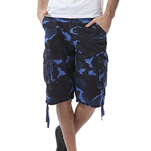 QUINTRA 2018 Männer Casual Camouflage Tasche Strand Arbeit Kurze Hosen Cargo Shorts Pant