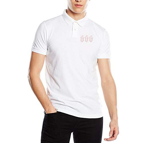 Joy Wholesale Number 666 Mens Premium Polo Shirt Unofficial