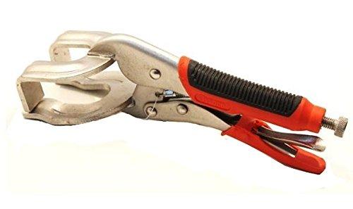 Pinza autobloccante a scatto regolabile 250mm presa efficace superfici tonde