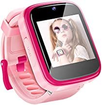 Yehtta Kids Smart Watch Toys for 3-8 Year Old Girls Toddler Watch HD Dual Camera Watch for Kids All in one Pink Easter Birthday Gifts for 5-12 Year Old Girls USB Charging Touch Screen Educational Toys