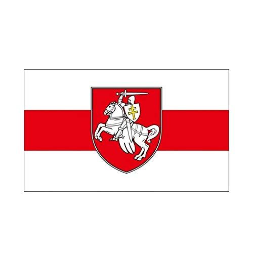 White Knight Flag Belarusian Ritter Flagge Gruppe Flag Flag, Belarus White Knight Pagonya Flagge 150x90cm 60x90cm Banner Fahnen & Banner (Color : 90x150cm)