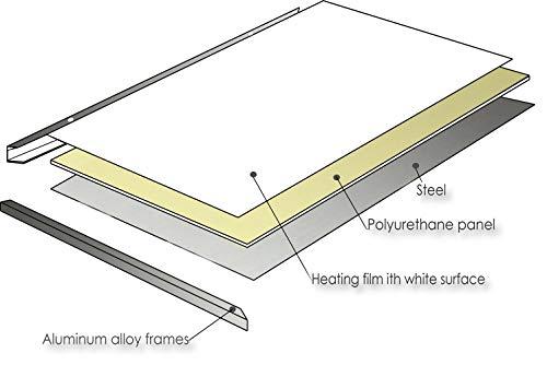 ColdFighting Geringer Rabatt 1000 * 1200mm 1200W Bild Fernes Infrarot -Panel Elektrische Bild 6*