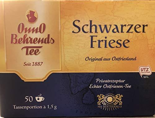 Onno Behrends Schwarzer Friese 50 Teebeutel