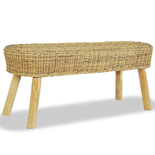 WENXIA Garden outdoor bench Chair garden bench entrance bench furniture decoration 110 x 35 x 45 cm