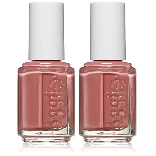 essie nail polish, eternal optimist, rose pink nail polish, 0.46 fl. oz, 2 count