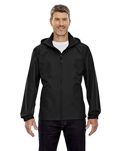 Ash City - North End 88083 - Chaqueta Techno Lite para hombre -  Negro -  XXX-Large