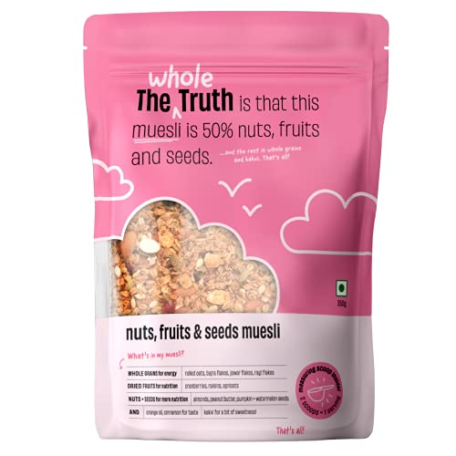 The Whole Truth - Breakfast Muesli - Nuts, Fruits and Seeds - 350g