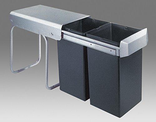 Wesco Einbaueimer Double 1/ 755611-11/ - Abfallbehälter/Mülleimer