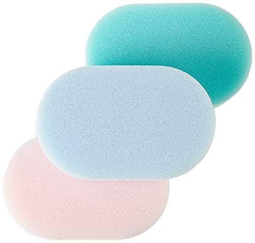 Meridiana Éponge de bain standard Vert/rose/bleu