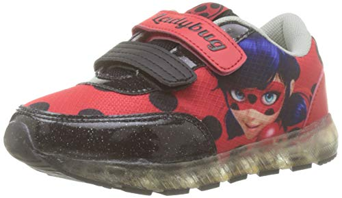 Cerdá Lady Bug, Sneakers Basses Fille, Rouge (Rojo C06), 30 EU