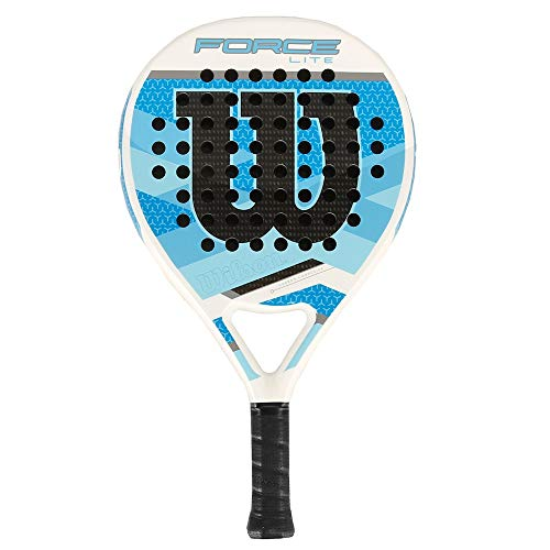 Wilson Force Lite Racchetta di Paddle, Bianco Blu
