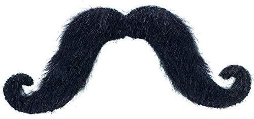 Amscan Fun Felt Mustache Costume, One Size, Black
