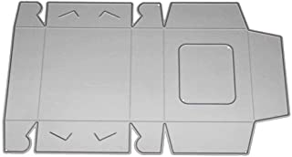 Tralntion DIY 3D Candy Gift Box Cutting Dies Decoration Metal Stencils Photo Invitation Greeting Cards Decoration Metal Stencils