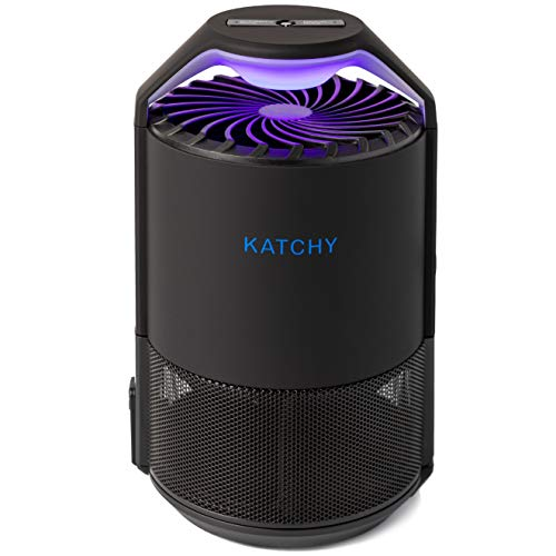 KATCHY Indoor Insect Trap: Bug, Fruit Fly, Gnat, Mosquito Killer - Automated Sensor Switch, UV...
