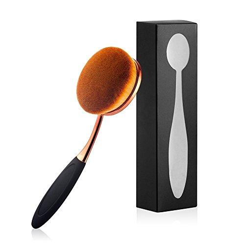 yoseng Oval cepillo grande cepillo de dientes aplicar para makeup-liquid polvo o crema.
