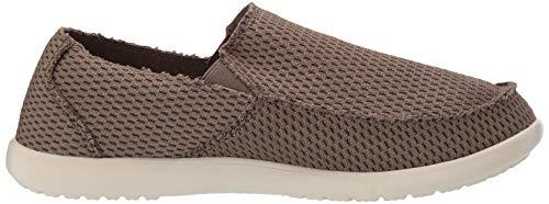 Crocs Men's Santa Cruz Mesh Slip-on Loafer