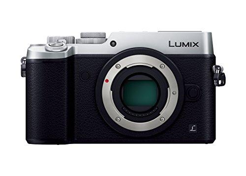 パナソニック ミラーレス一眼カメラ ルミックス GX8 ボディ 2030万画素 シルバー DMC-GX8-S