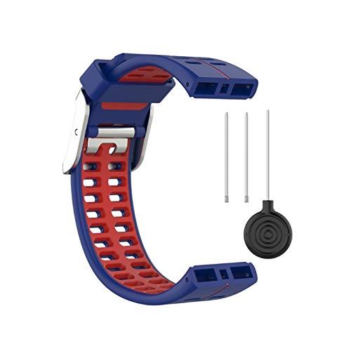 XUEXIU Banda De Reloj De Pulsera De Reemplazo De Silicona para Polar V800 Pulsera Inteligente con Herramienta Smart Watch Strap para Hombres Mujeres (Color : C)