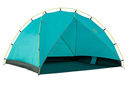 Grand Canyon TONTO BEACH TENT 4 - Tente de plage / coquille de plage 210 x 210 cm - Tente dôme, UV50+, étanche - Blue Grass (Bleu)