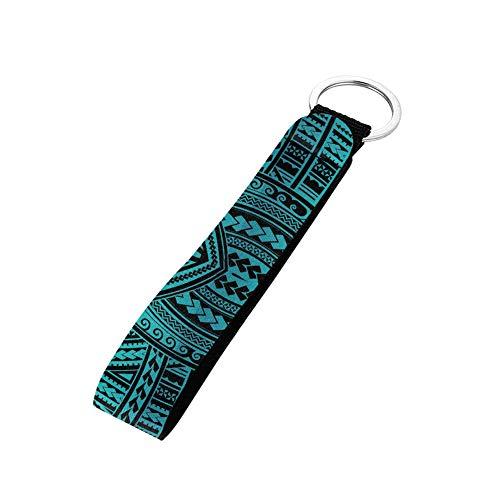 SEANATIVE Handschlaufe für Autoschlüssel, Heimschlüsselkamera, USB, Handy-Halter, Metall-Schlüsselanhänger, einzigartiges Taschen-Zubehör Gr. Einheitsgröße, mintgrün