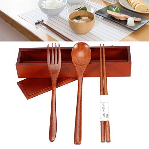 Sistema de regalo determinado del servicio de mesa de madera de los bordes lisos para el restaurante