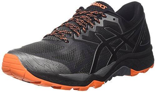 Asics Gel-Fujitrabuco 6, Zapatillas de Running para Hombre, Gris (Carbon/Black/Hot...