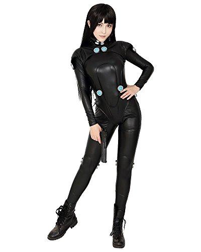 Cosplay.fm Women's Reika Shimohira Cosplay Costume Bodysuit (L) Black