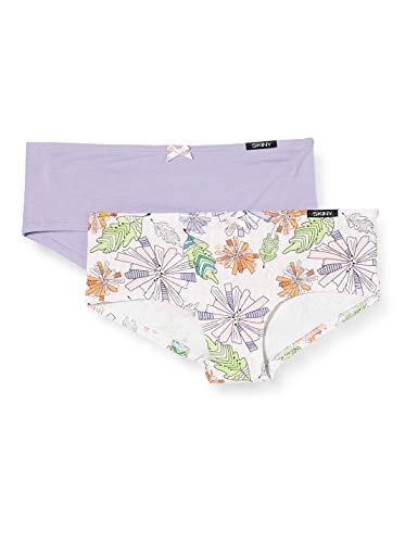 Skiny Mädchen Panty 2er Pack Garden Unterhose, Mehrfarbig (Tropical Selection 2776), (Herstellergröße:164)