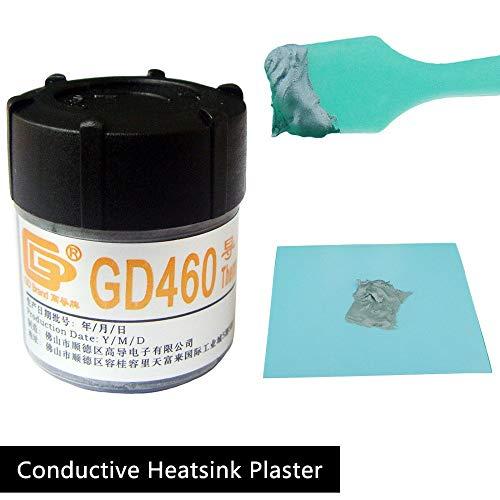 シリコングリス20g 高効率熱伝導CPU VGA cpuグリス 潤滑 透明 ケイ素 クーラー 冷却 放熱 セラミック 滑油 grease 珪素化合物 GD460ヒートシンク コンパウンド