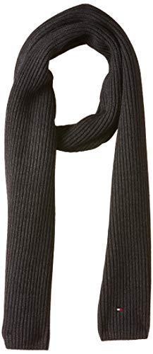 Tommy Hilfiger Herren PIMA Cotton Cashmere Scarf Schal, Grau (Grey 0g5), One Size (Herstellergröße: OS)