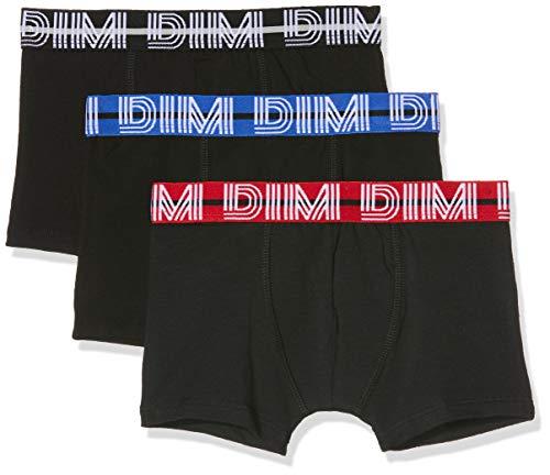 Dim Jungen 6n67030-ra 3 Boxers Badehose, Schwarz (Noir 02), 12 Jahre (Herstellergröße: 12A) (3er Pack)
